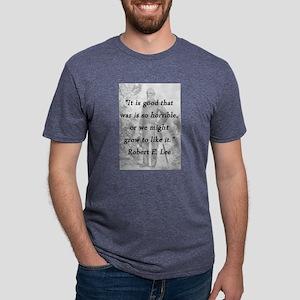 Lee - War Is Horrible Mens Tri-blend T-Shirt