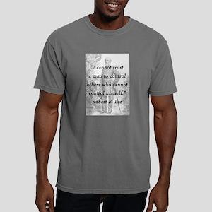 Lee - Trust a man Mens Comfort Colors Shirt