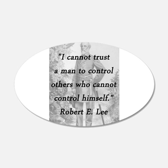 Lee - Trust a man Wall Decal