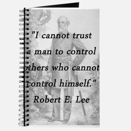 Lee - Trust a man Journal