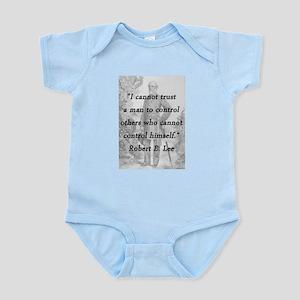 Lee - Trust a man Infant Bodysuit