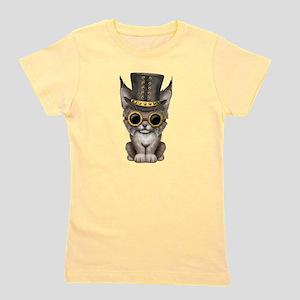 Cute Steampunk Baby Lynx Cub T-Shirt