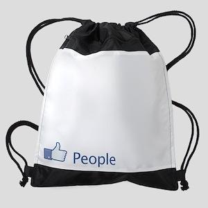 Border-Collie04 Drawstring Bag