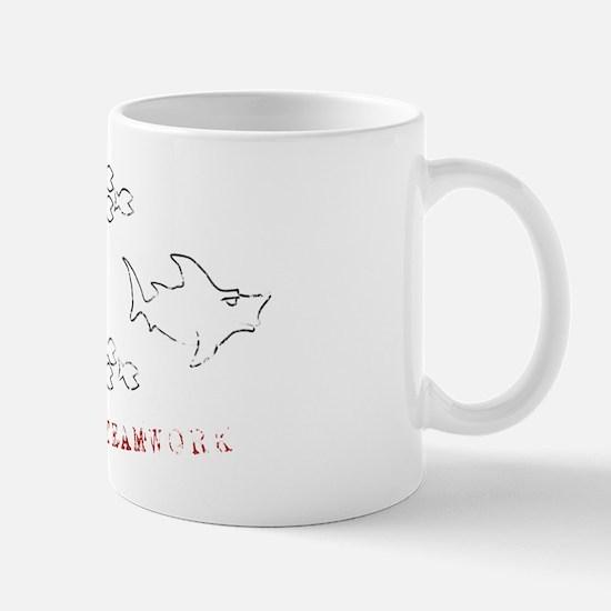 fish teamwork Mug