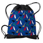 Windsurfing Drawstring Bag