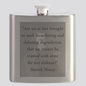 Henry - Trusted With Arms Flask