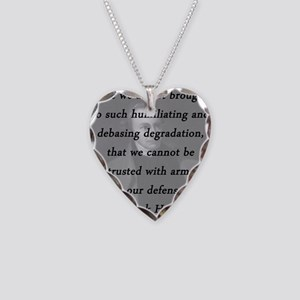 Henry - Trusted With Arms Necklace Heart Charm