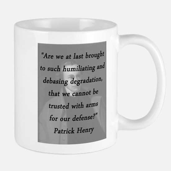 Henry - Trusted With Arms Mug