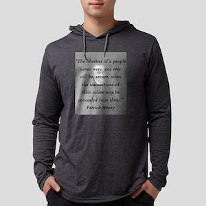 Henry - Liberties of People Mens Hooded Shirt