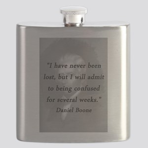 Boone - Never Lost Flask
