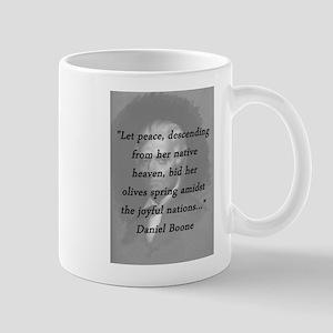 Boone - Peace 11 oz Ceramic Mug