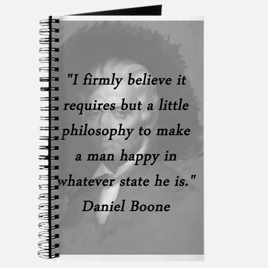 Boone - Philosophy Journal