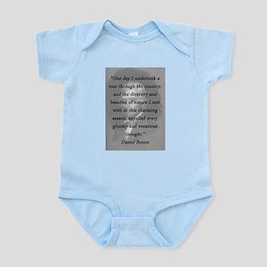 Boone - Undertook a Tour Infant Bodysuit