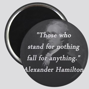 Hamilton - Stand for Nothing Magnet
