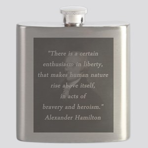 Hamilton - Certain Enthusiasm Flask