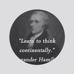Hamilton - Learn to Think Button