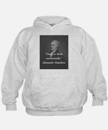 Hamilton - Learn to Think Hoody
