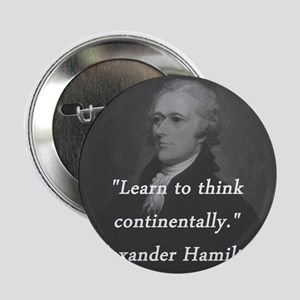 "Hamilton - Learn to Think 2.25"" Button"
