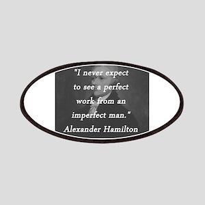 Hamilton - Perfect Work Patch