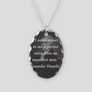 Hamilton - Perfect Work Necklace Oval Charm