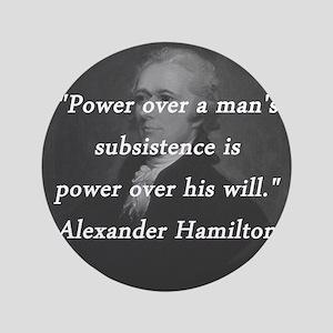 Hamilton - Power Over Button