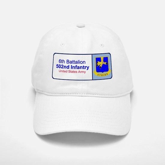 6th Battalion 502nd Infantry Baseball Baseball Cap