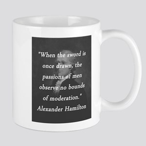 Hamilton - Sword Once Drawn 11 oz Ceramic Mug