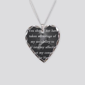 Hamilton - Taken Advantage Necklace Heart Charm