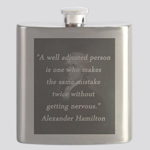 Hamilton - Well Adjusted Person Flask