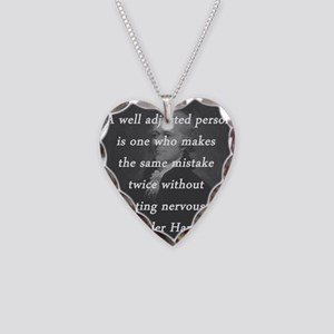 Hamilton - Well Adjusted Person Necklace Heart Cha