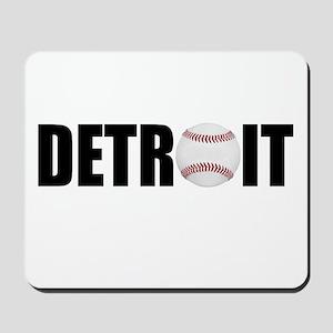Detroit Baseball Mousepad