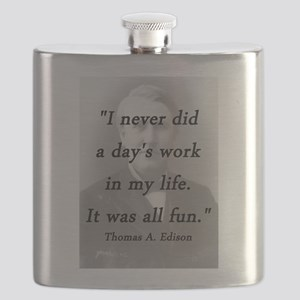 Edison - Days Work Flask