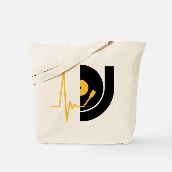 music_pulse_dj Tote Bag