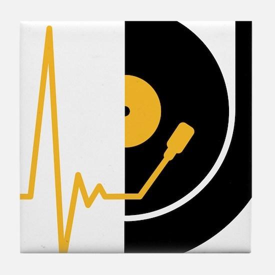 music_pulse_dj Tile Coaster