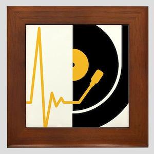 music_pulse_dj Framed Tile