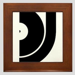 vinyl_dj Framed Tile