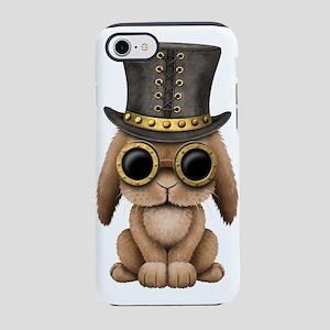 Cute Steampunk Baby Bunny Rabbit iPhone 7 Tough Ca