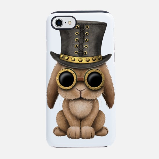 Cute Steampunk Baby Bunny Rabbit iPhone 7 Tough Ca