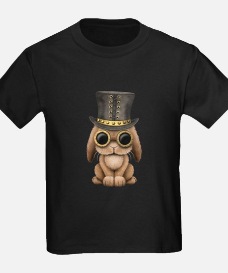 Cute Steampunk Baby Bunny Rabbit T-Shirt