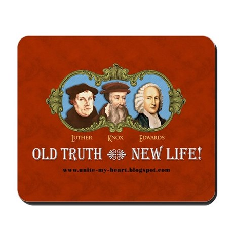 OLD TRUTH Mousepad