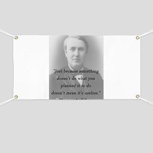 Edison - Something Doesnt Do Banner