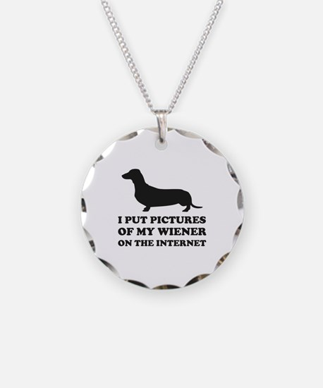 Pictures Of My Wiener On The Internet Necklace