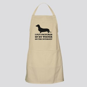 Pictures Of My Wiener On The Internet Apron