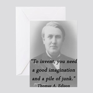 Edison - To Invent Greeting Card