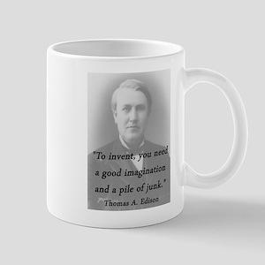 Edison - To Invent 11 oz Ceramic Mug