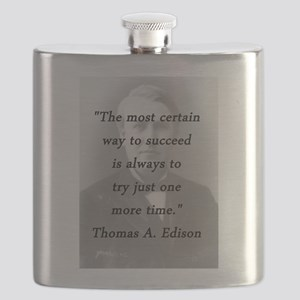 Edison - Way to Succeed Flask
