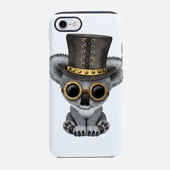Cute Steampunk Baby Koala Bear iPhone 7 Tough Case