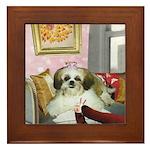 Shih Tzu Framed Tile