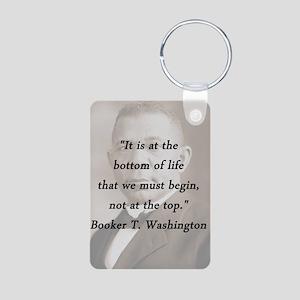 B_Washington - Bottom Of Life Aluminum Photo Keych