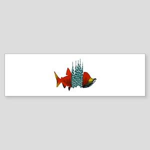 SALMON Bumper Sticker
